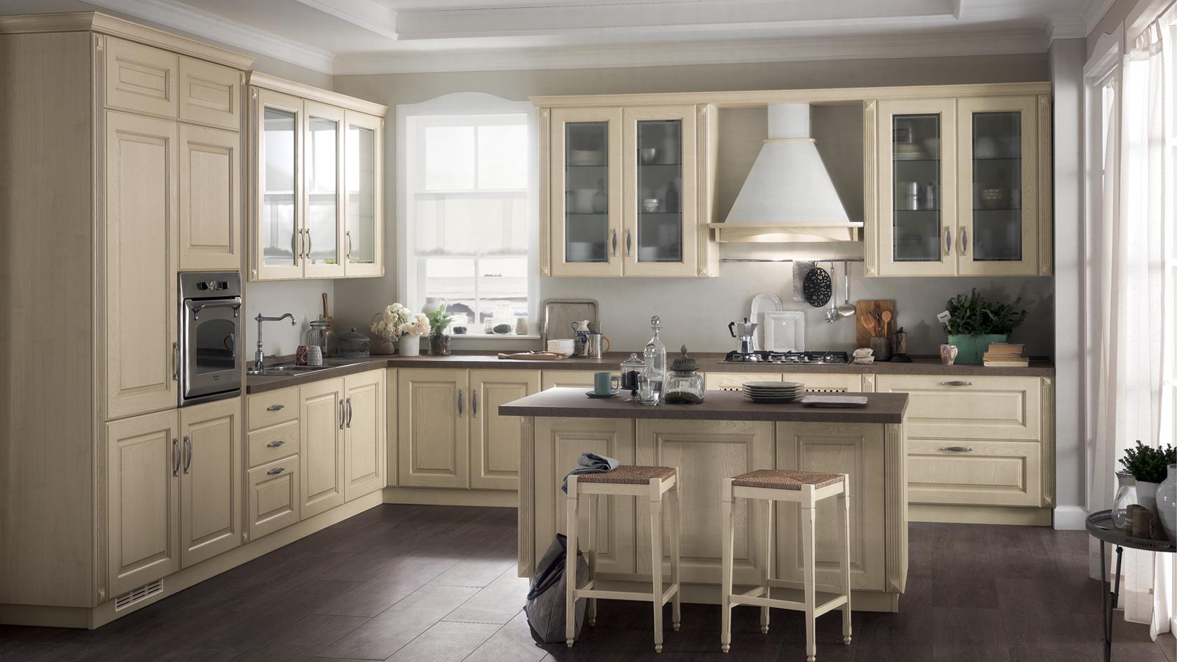 Cucina Scavolini Madeleine chiara