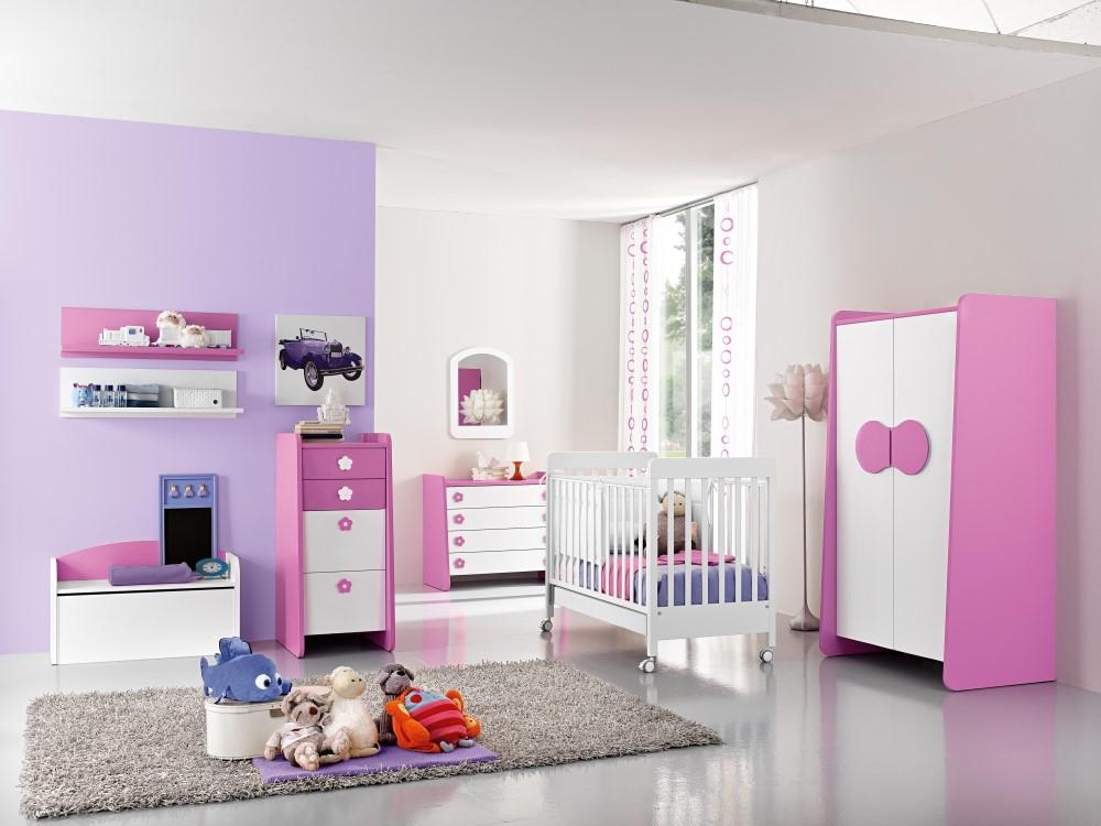 Armadio rosa per bambini