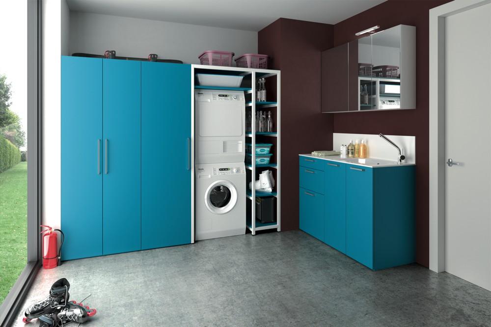 Lavanderia blu di design