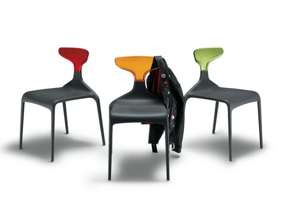 Sedia colorata di design