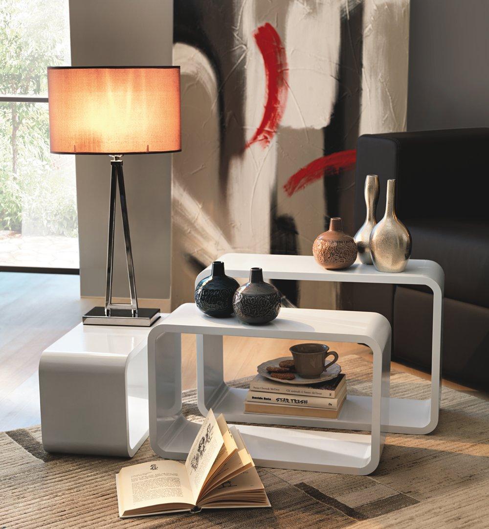 Tavolino bianco di design