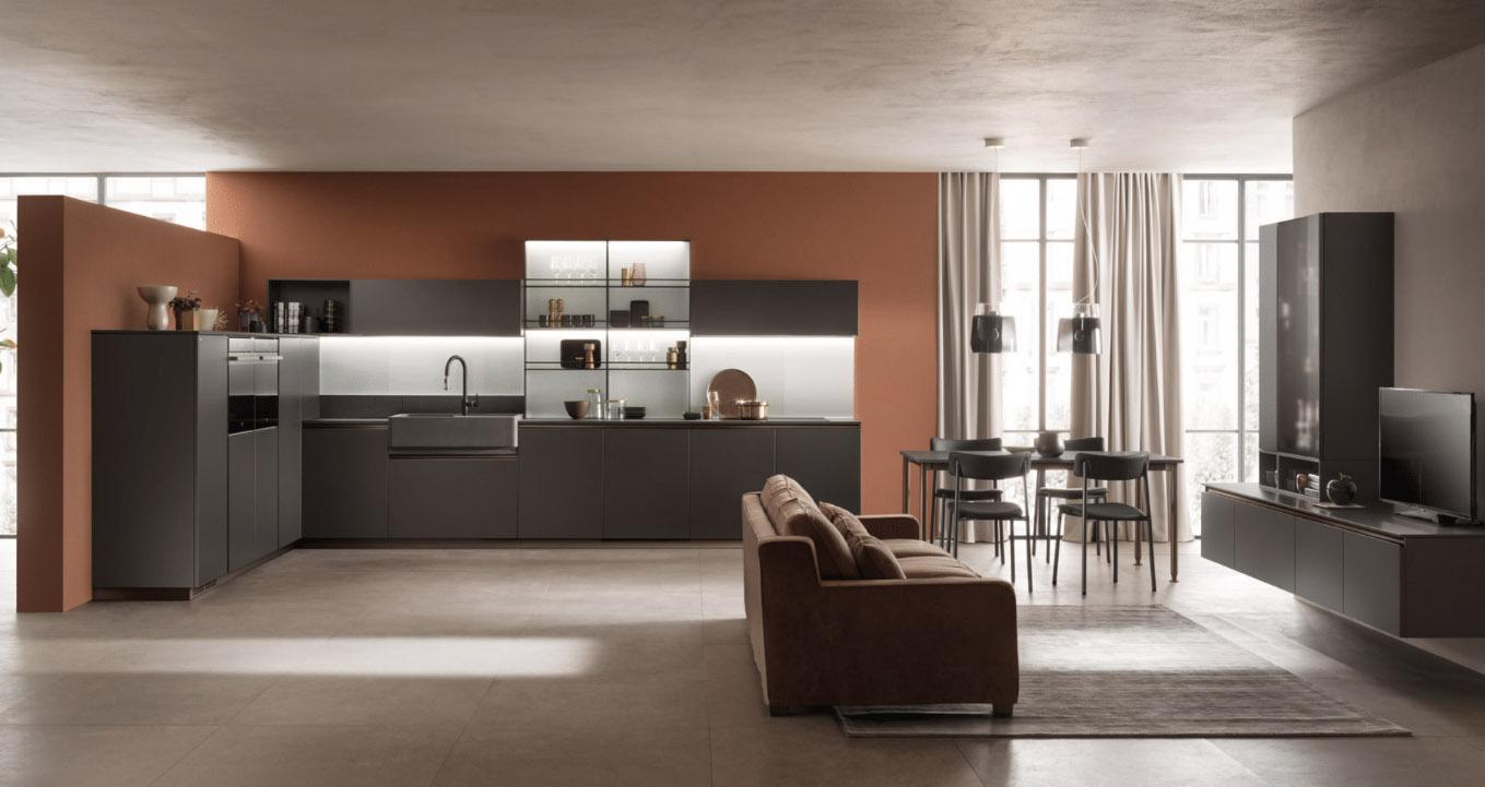 Camere Da Letto Matrimoniali Moderne Scavolini.Cucine Moderne E Di Design Carignano E Carmagnola Torino