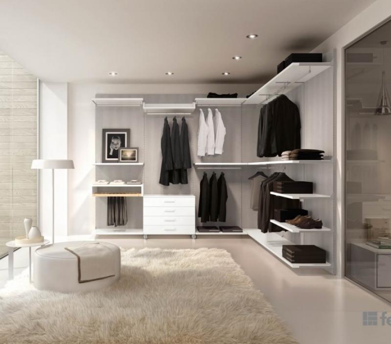 Cabina armadio bianca Ferri mobili