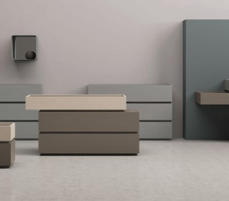 Gruppo letto design moderno