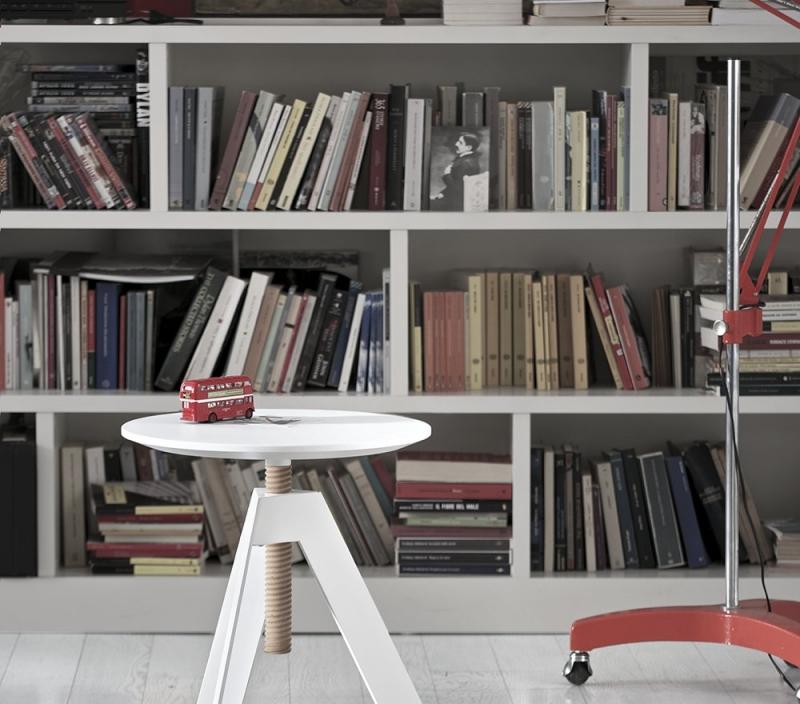 Tavolino rotondo di design